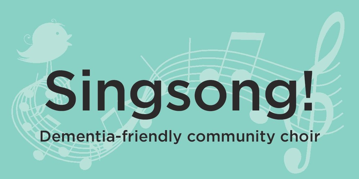 Headed image featuring logo of Singsong